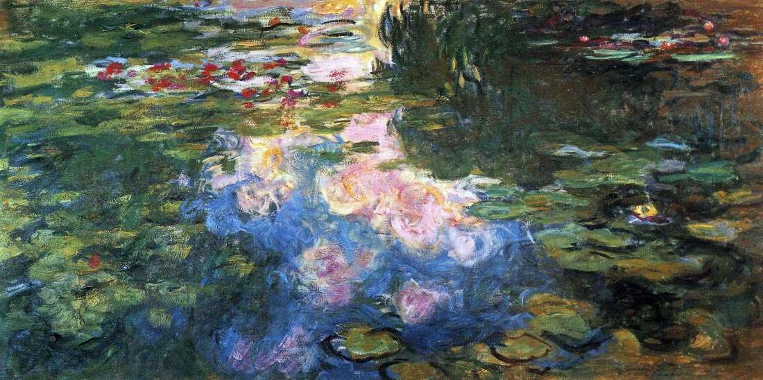 Water Lillies # 4 - Monet