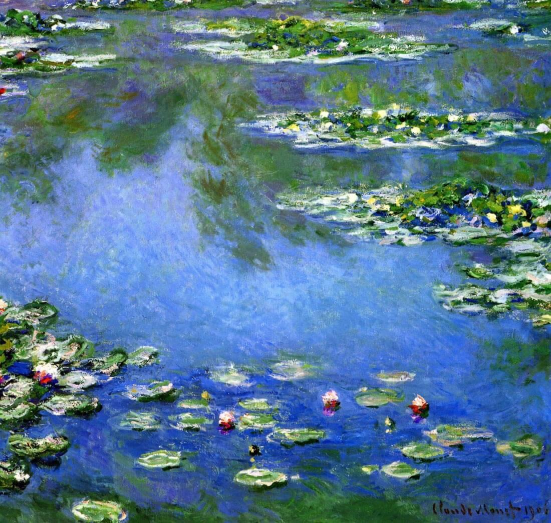 Water Lillies 1 - Monet