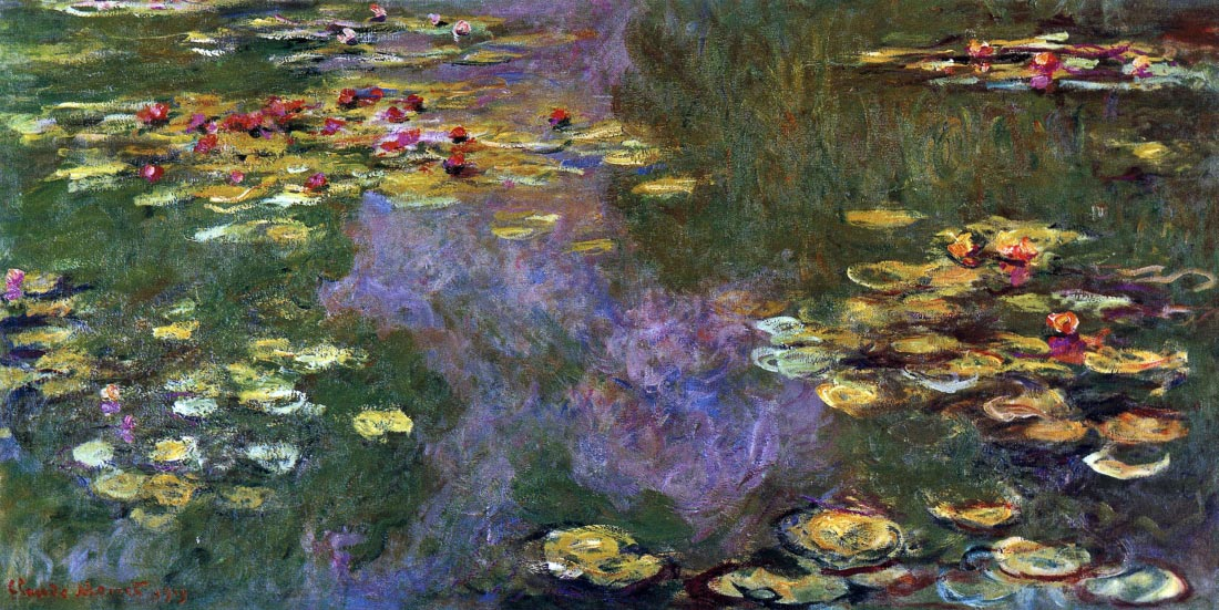 Water Lily Pond, Giverny - Monet