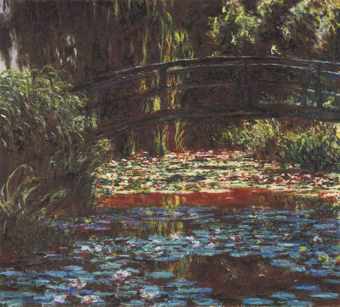 Water Lily Pond #1 - Monet