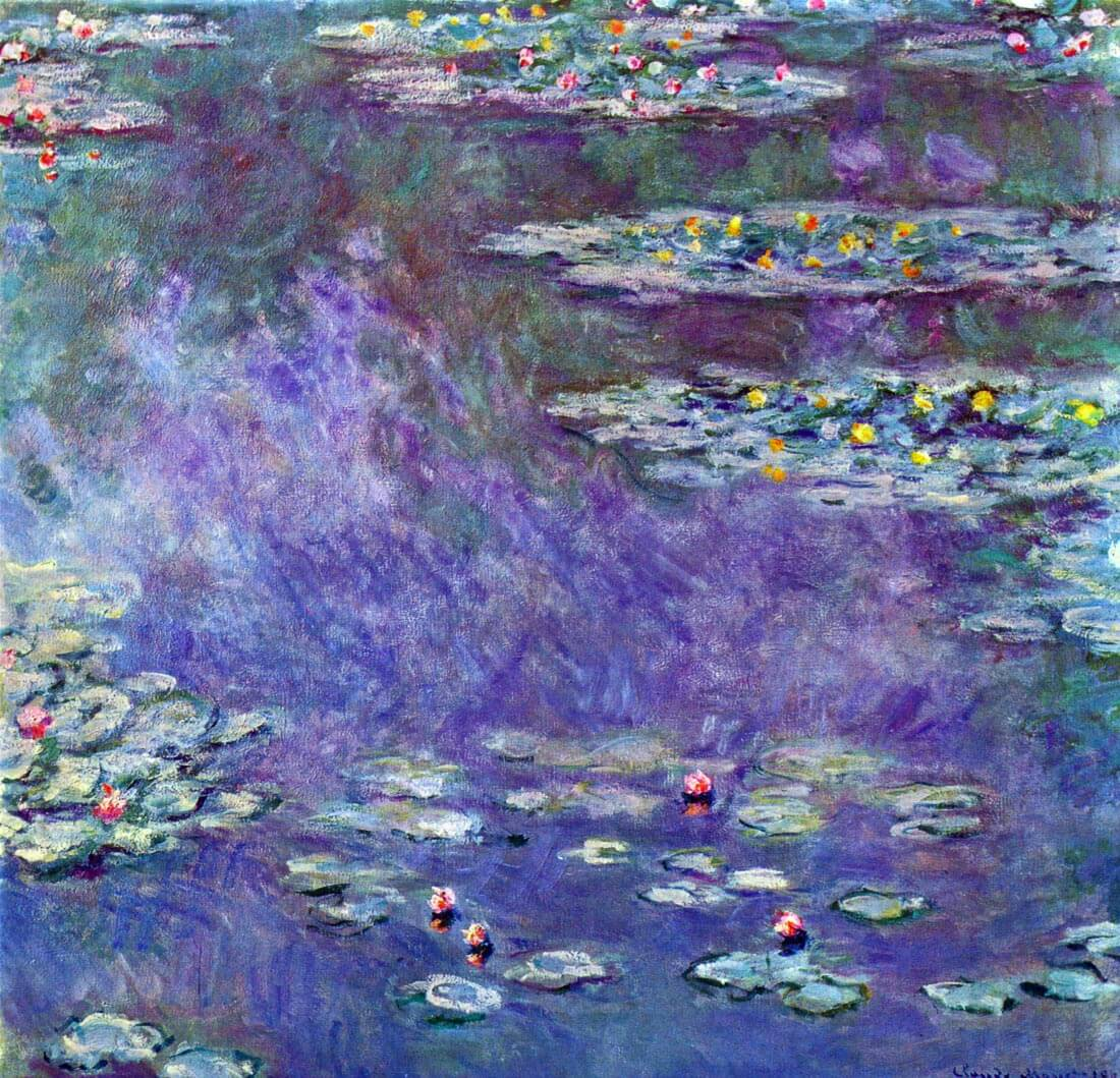 Water Lily Pond #3 - Monet