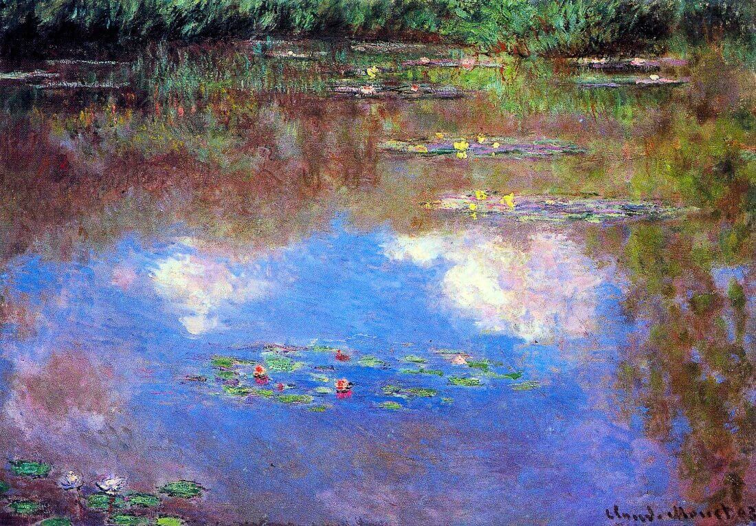 Water Lily Pond #4 - Monet
