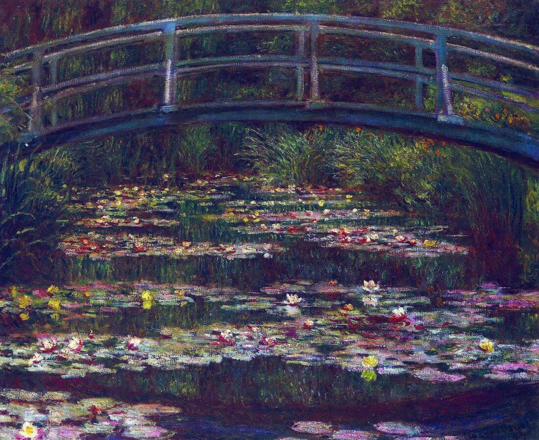 Water Lily Pond #5 - Monet