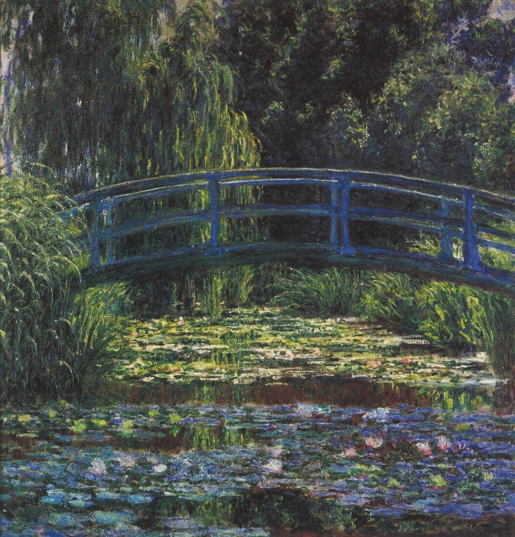 Water Lily Pond #6 - Monet
