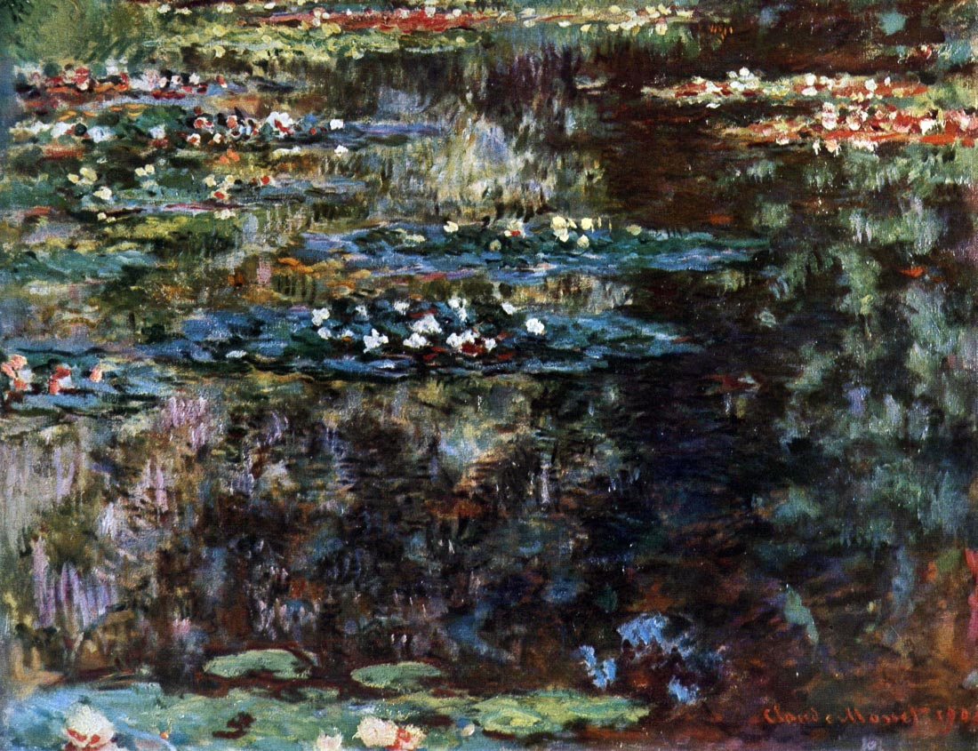 Water garden at Giverny - Monet