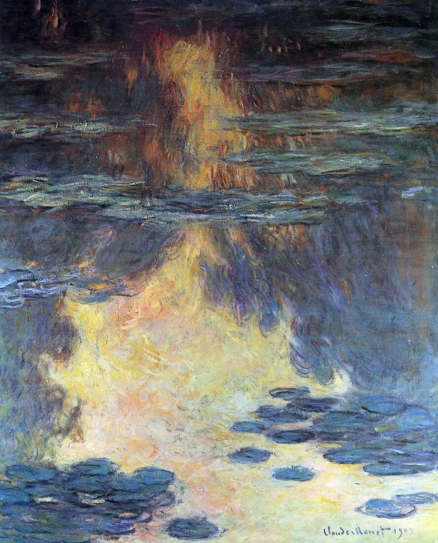 Water lilies, water landscape #2 - Monet