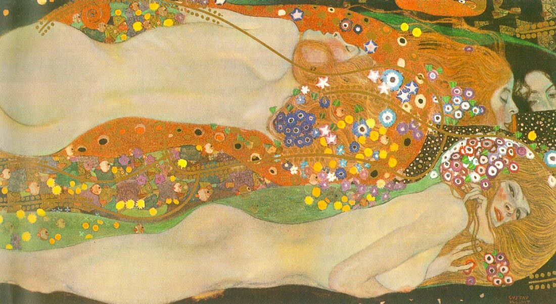 Water snakes (friends) II - Klimt