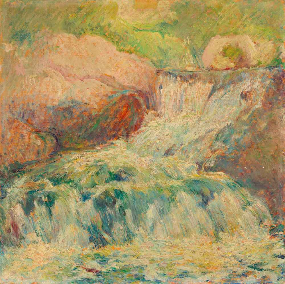 Waterfall 2 - John Henry Twachtman