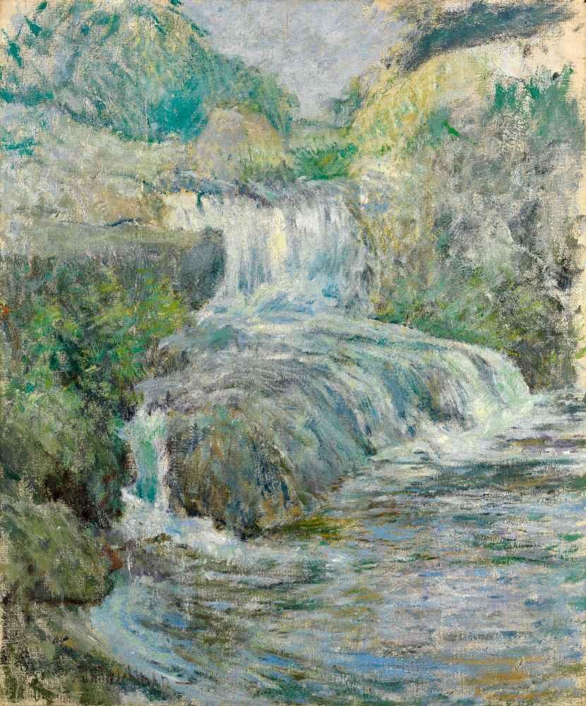 Waterfall - John Henry Twachtman