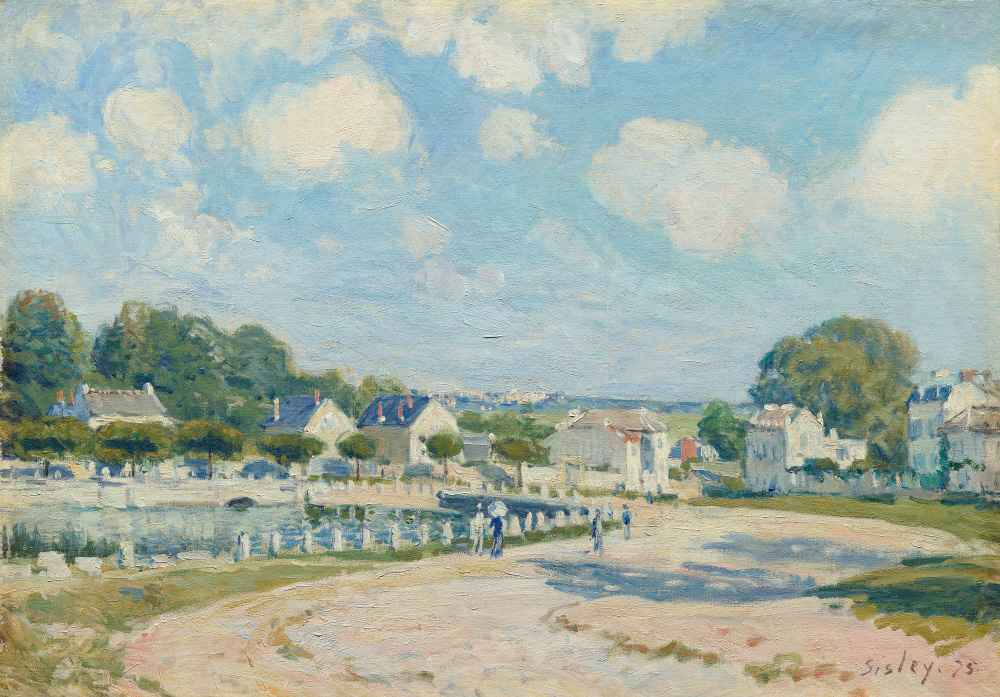 Watering Place at Marly - Alfred Sisley