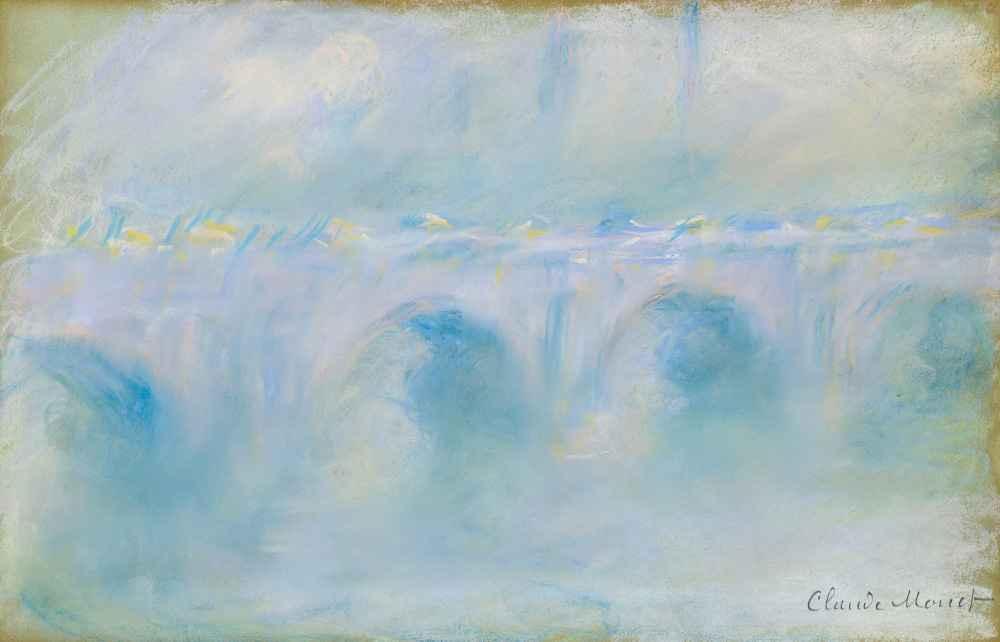 Waterloo Bridge 2 - Claude Monet