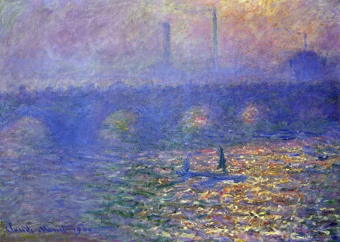 Waterloo Bridge - Monet