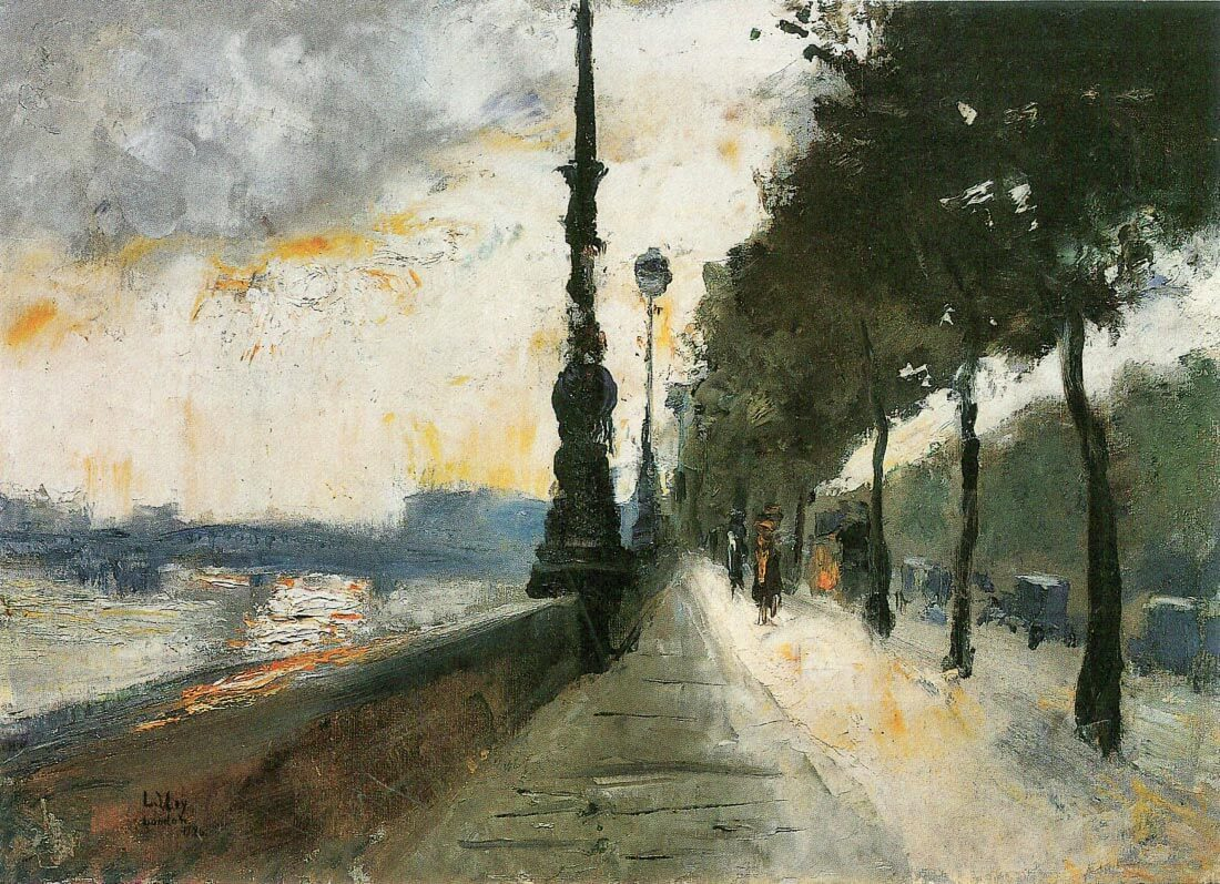 Waterloo Bridge in the Sun - Lesser Ury