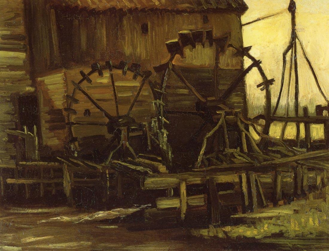 Waterwheels - Van Gogh