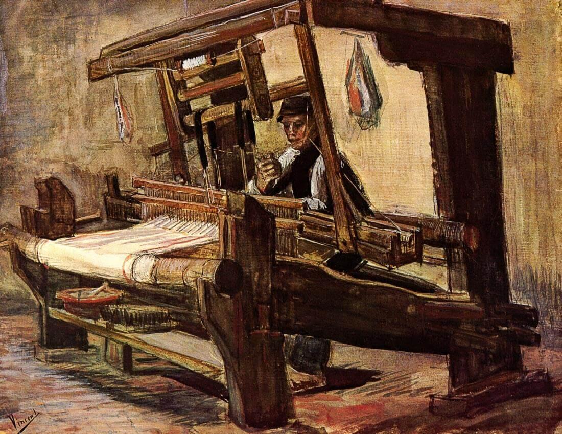 Weaver 2 - Van Gogh
