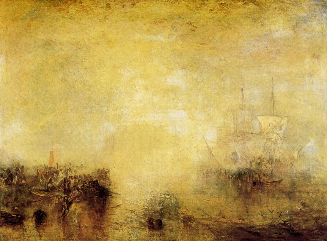 Whalers - Joseph Mallord Turner