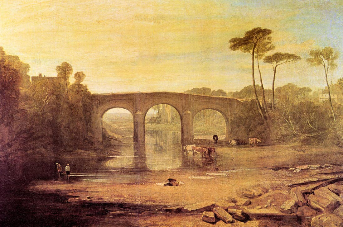 Whalley Bridge - Joseph Mallord Turner