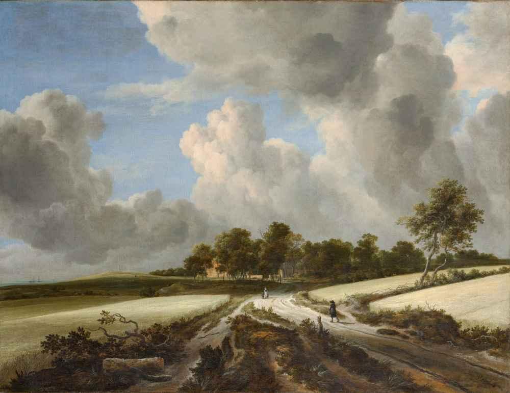 Wheat Fields - Jacob van Ruisdael