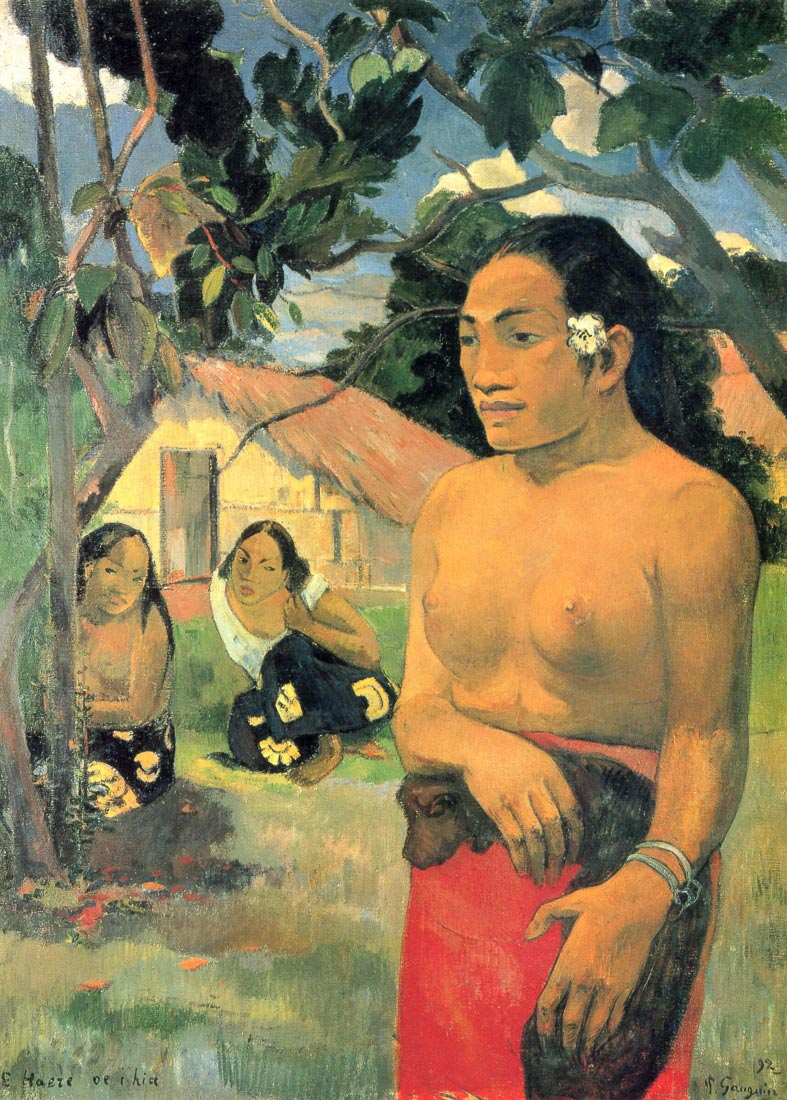 Where do you - Gauguin