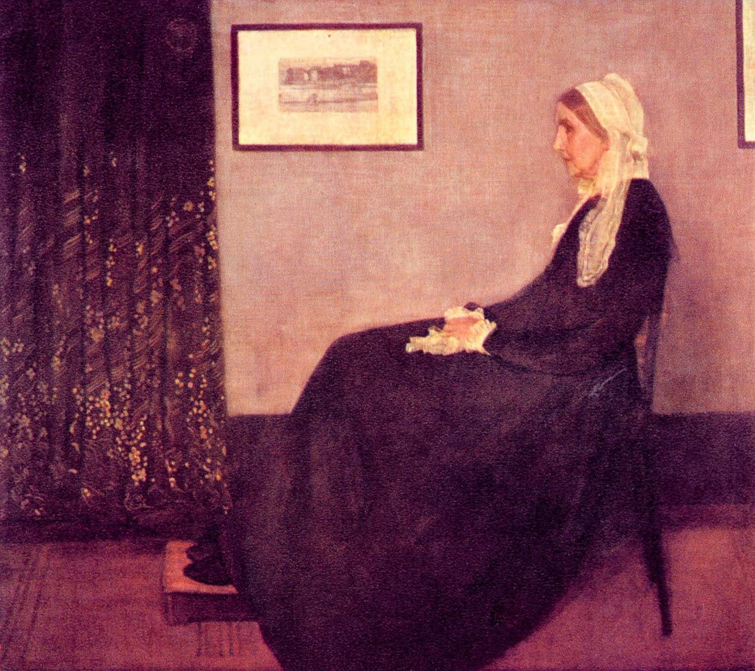 Whistler Mother - James Abbot McNeill Whistler