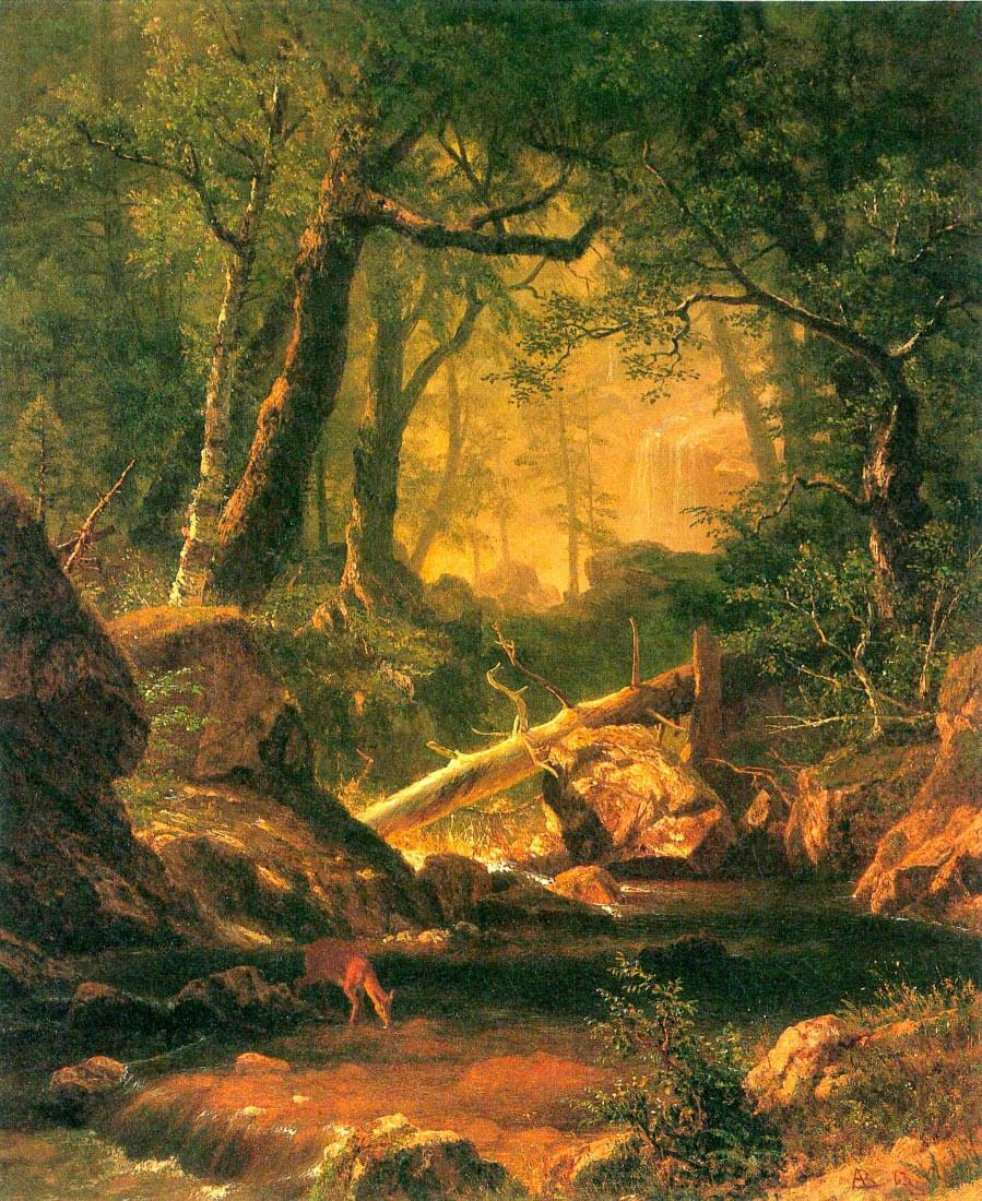 White Mountains, New Hampshire 2 - Bierstadt
