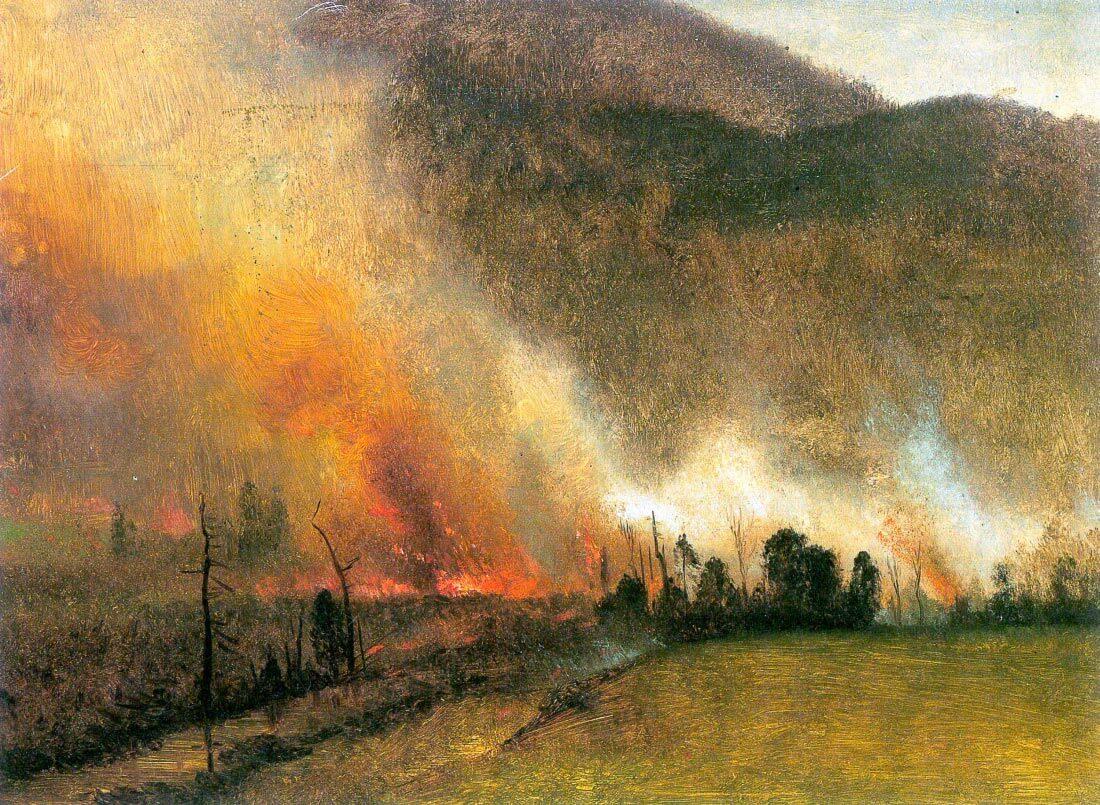 White Mountains, New hampshire 1 - Bierstadt