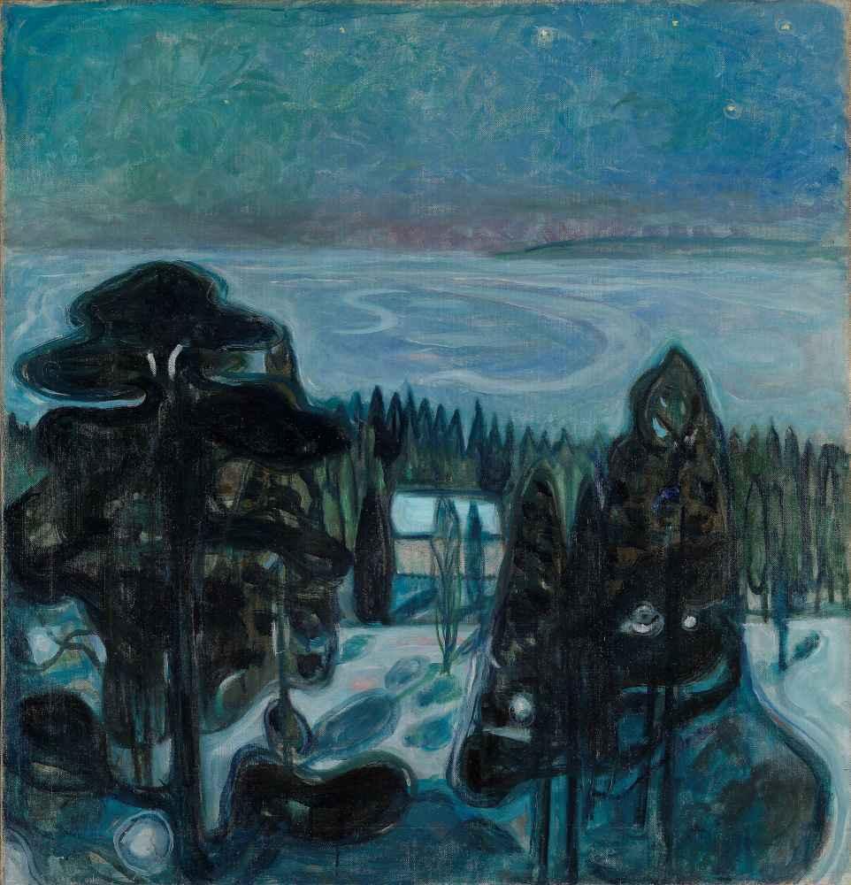 White Night - Edward Munch