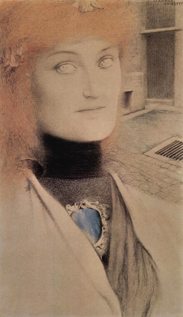 Who will redeem myself - Fernand Khnopff