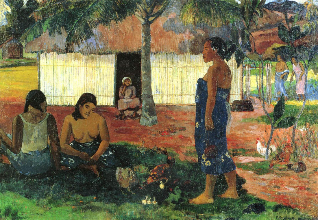 Whya are you Angry - Gauguin