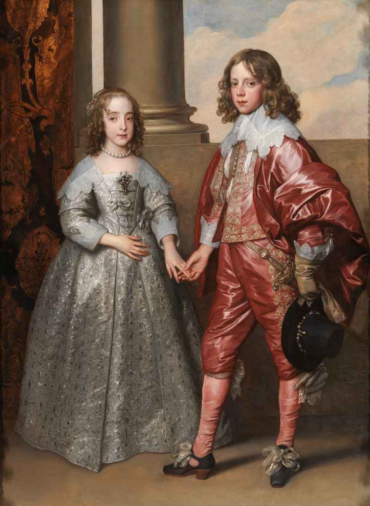 William II, Prince of Orange, and his Bride, Mary Stuart - Antoon van