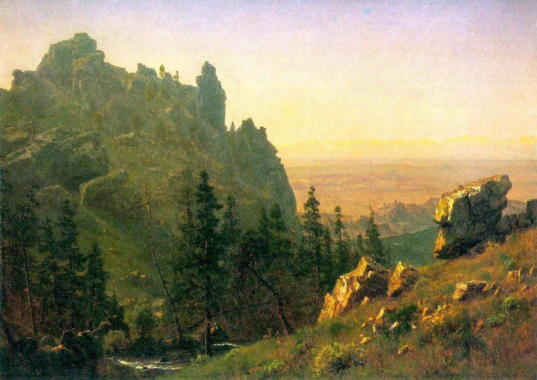 Wind River Country - Bierstadt