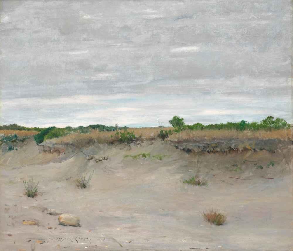 Wind-Swept Sands - William Merritt Chase