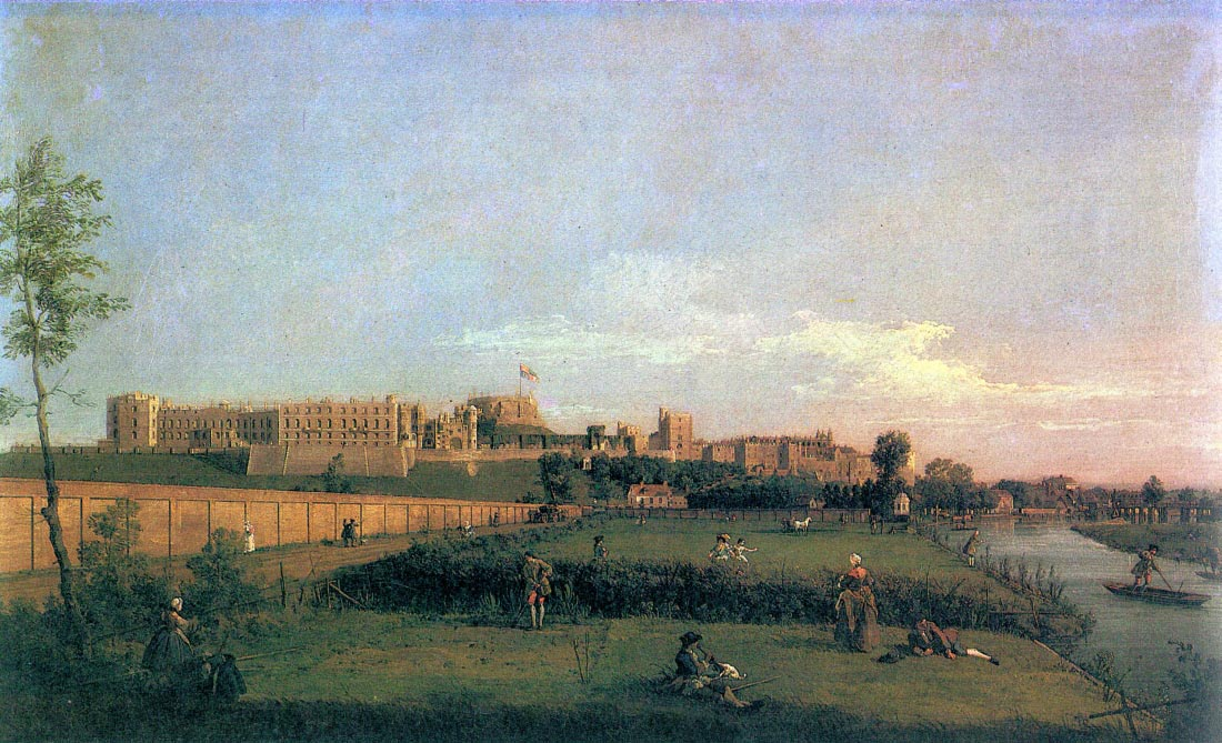 Windsor Castle - Canaletto