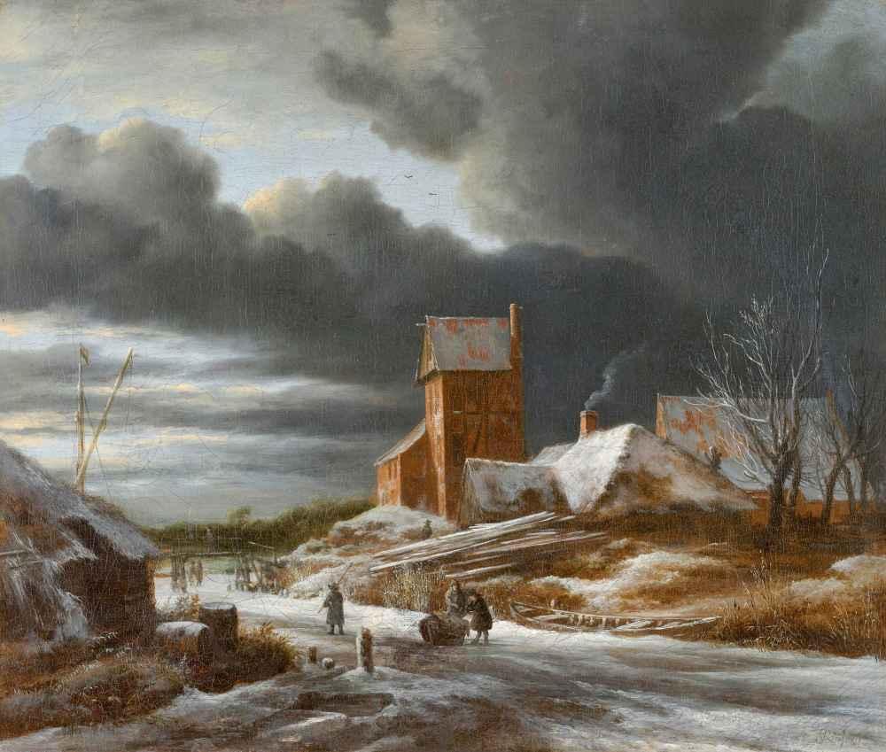 Winter Landscape - Jacob van Ruisdael