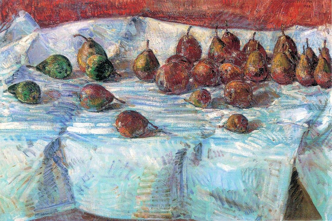 Winter Sickle Pears - Hassam