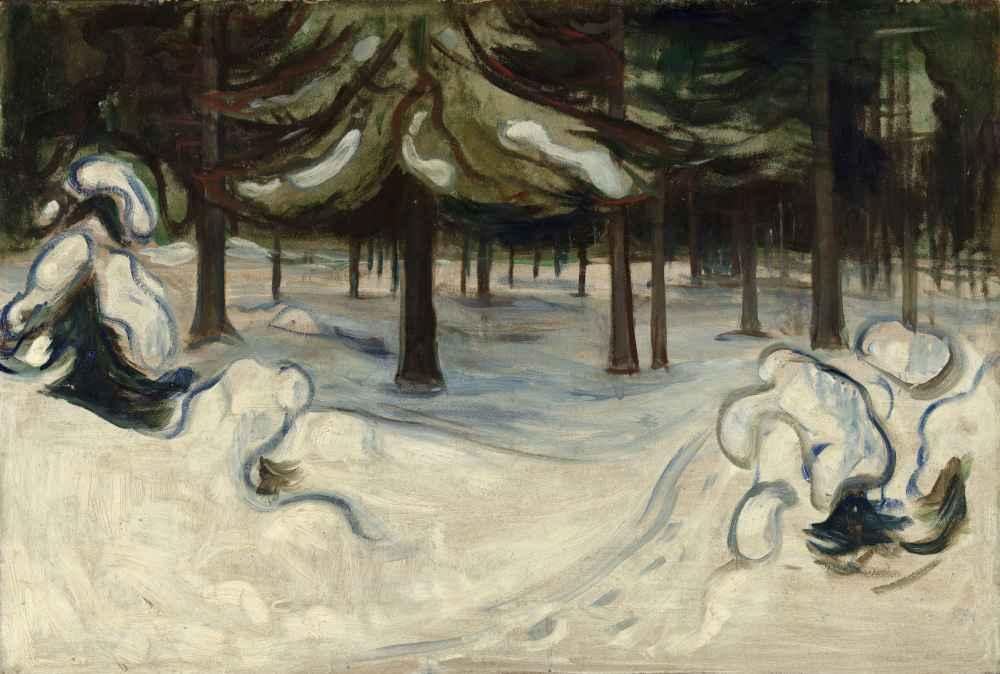 Winter - Edward Munch