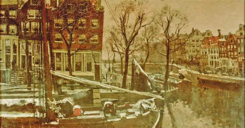 Winter in Amsterdam - George Hendrik Breitner