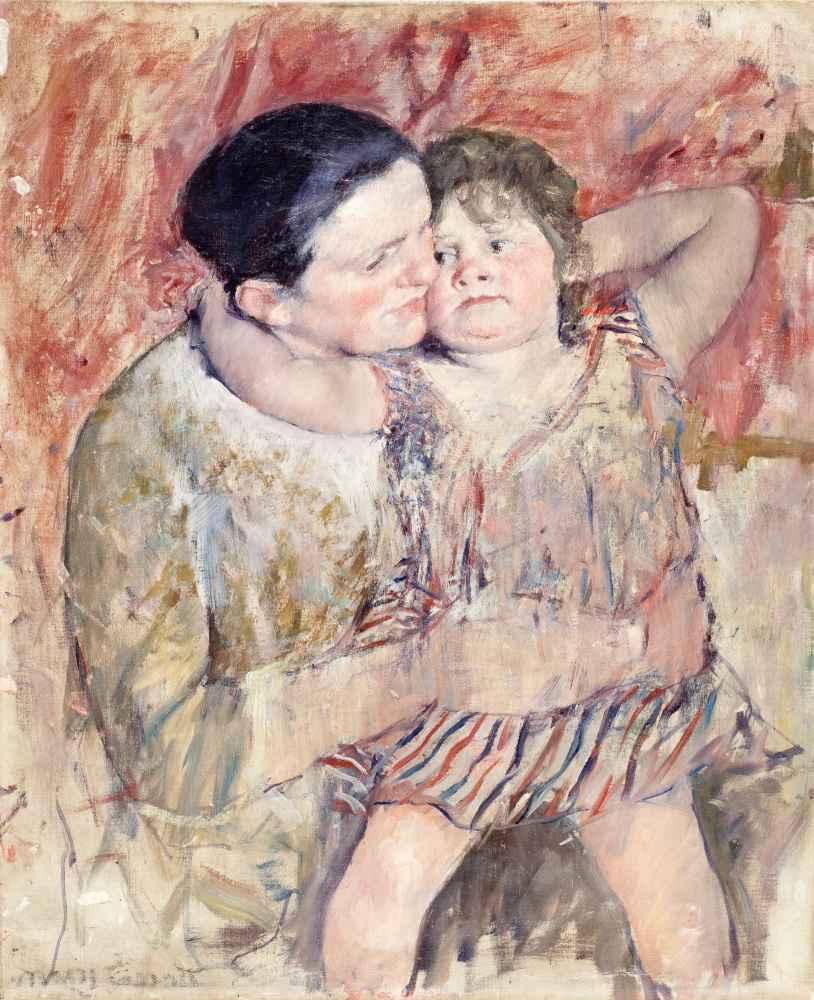 Woman and Child 2 - Mary Cassatt