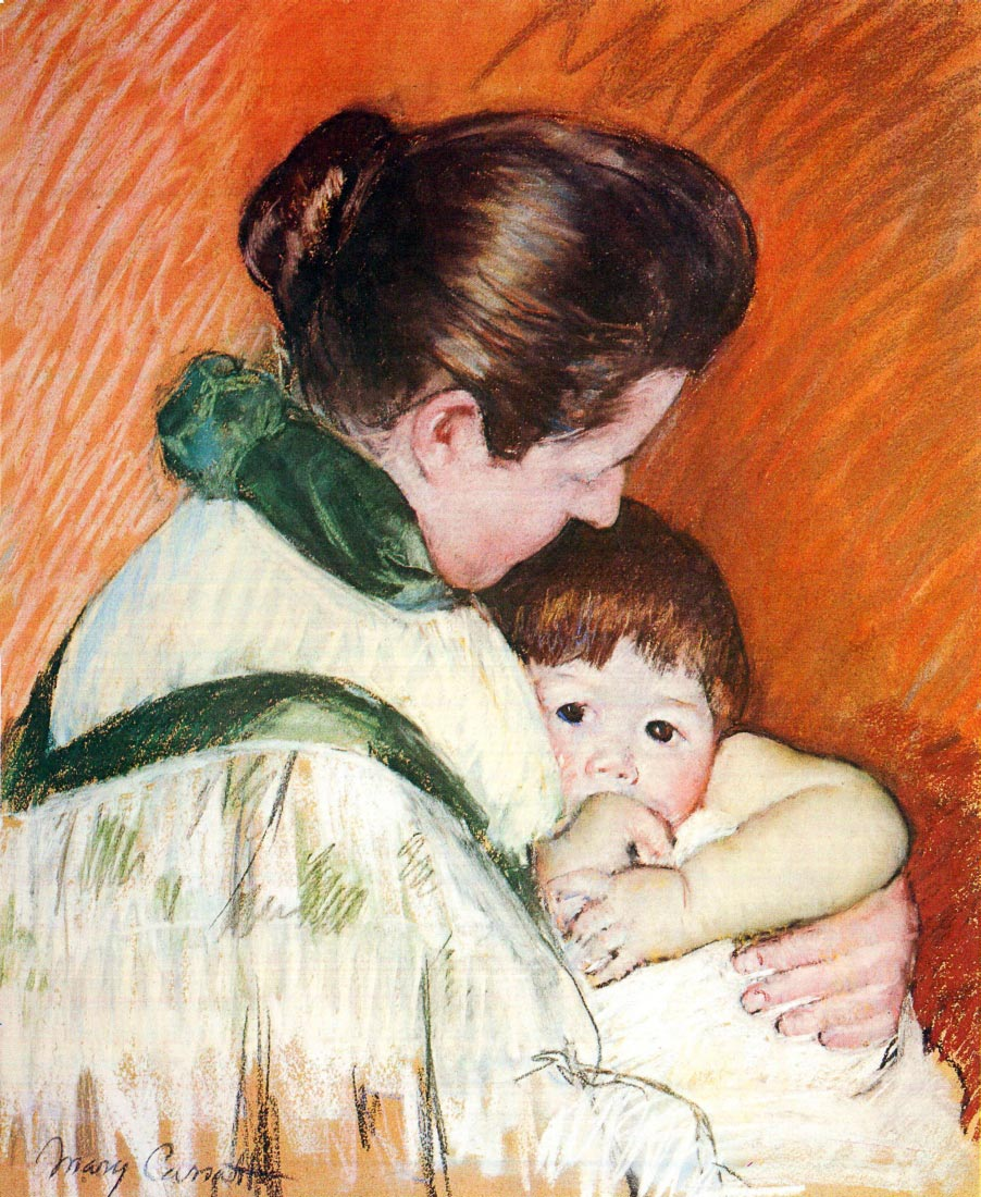 Woman and Child - Cassatt