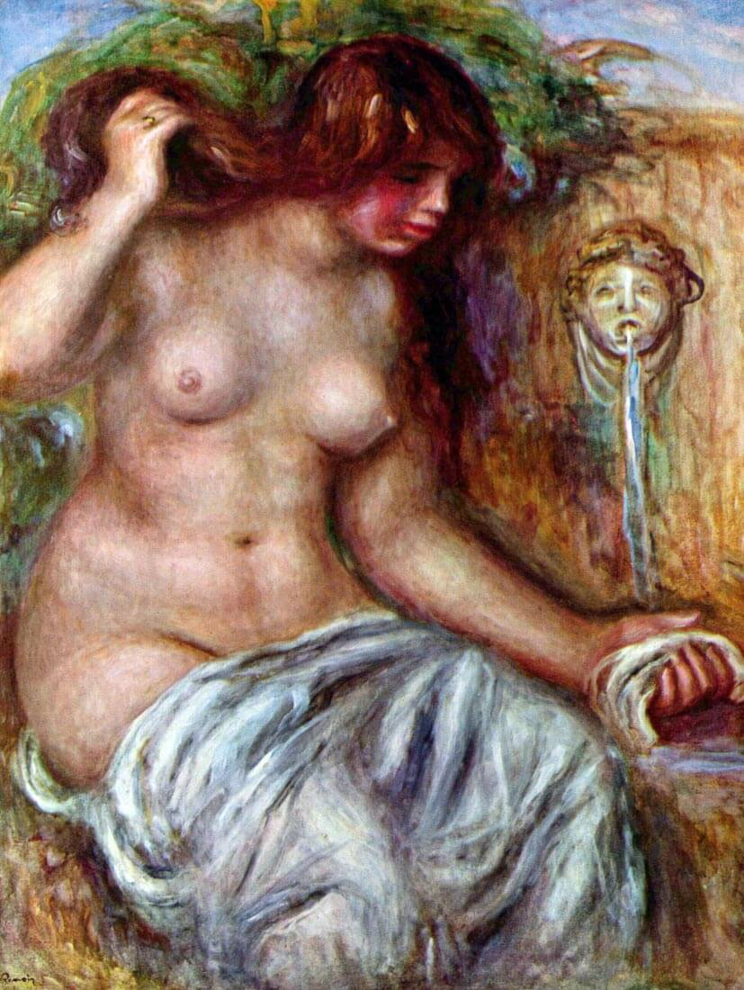 Woman at the Well - Renoir