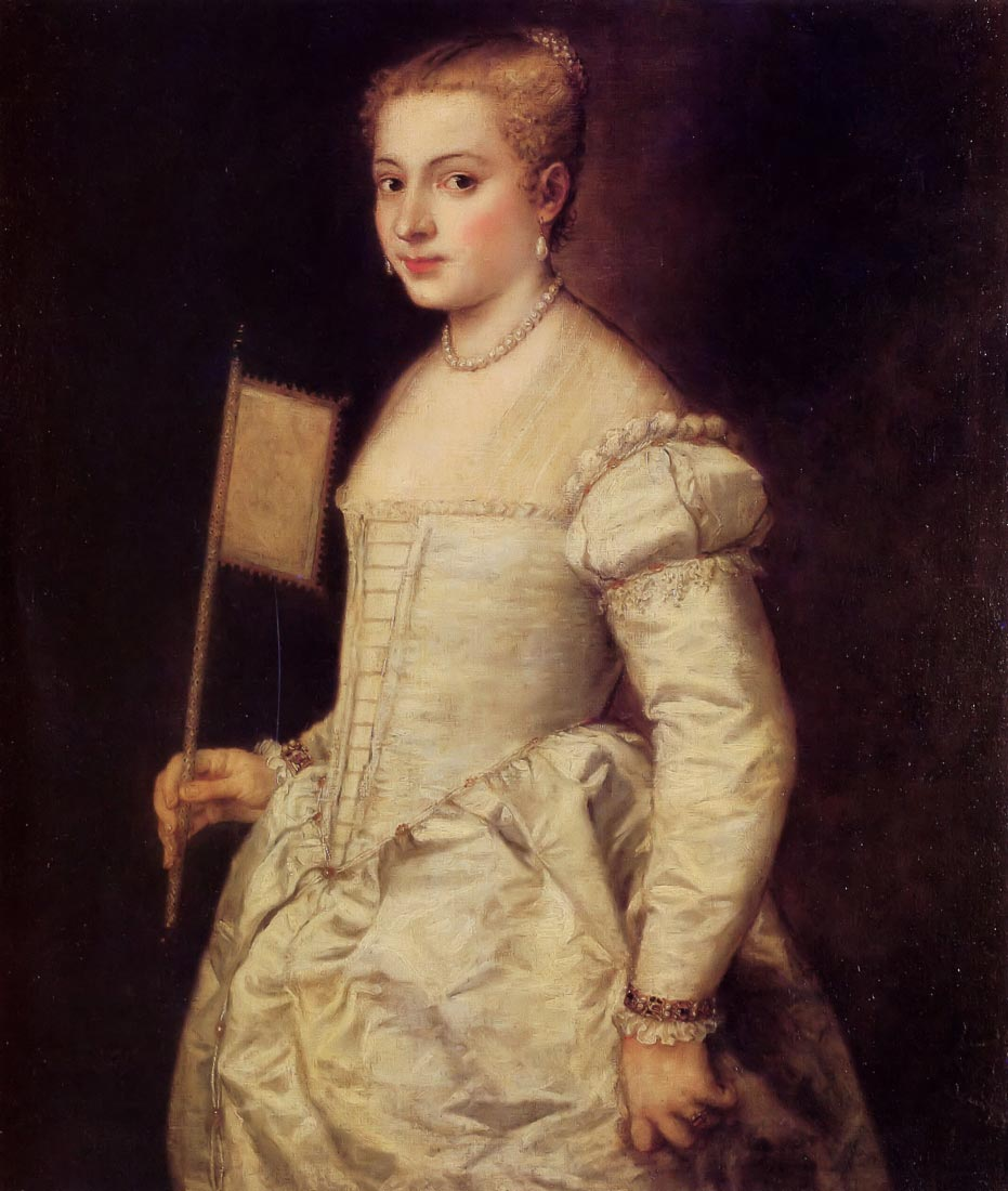 Woman in white - Titian