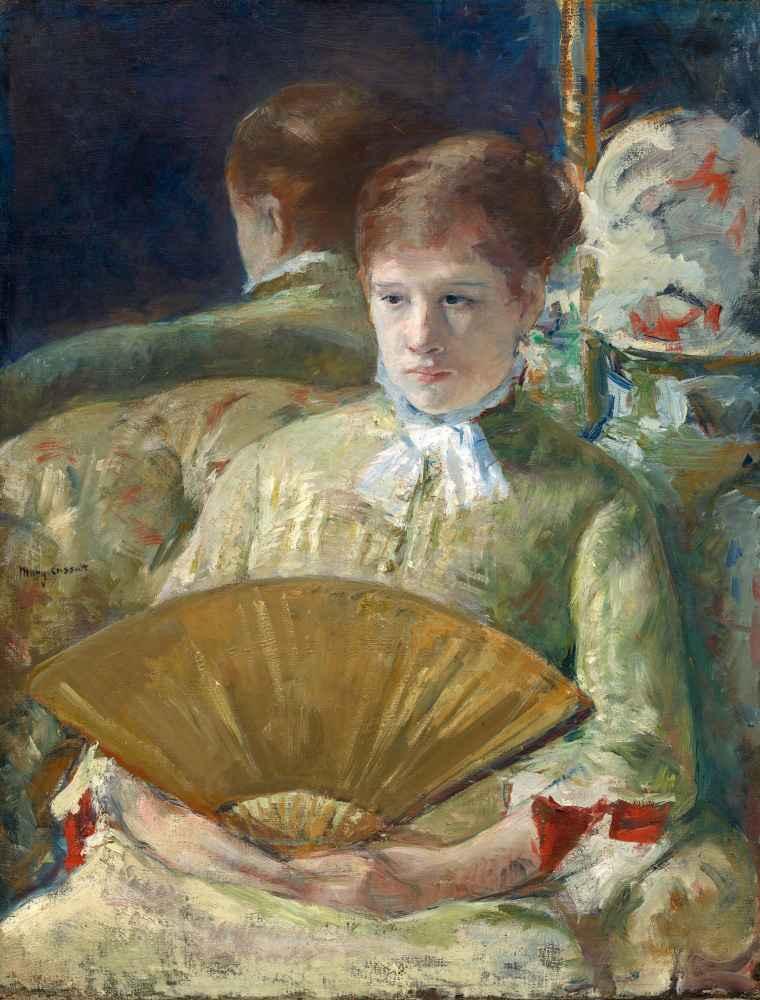 Woman with a Fan - Mary Cassatt
