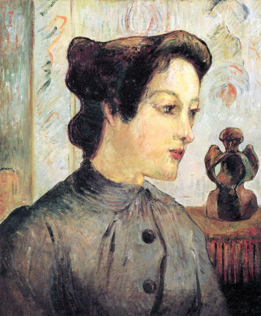 Women With Topknots - Gauguin