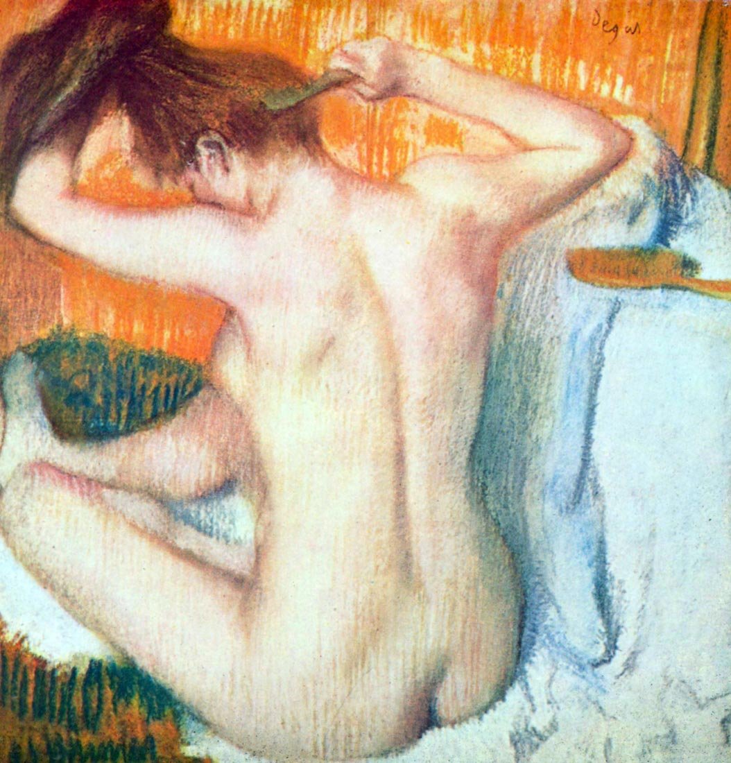 Women at the toilet #2 - Degas