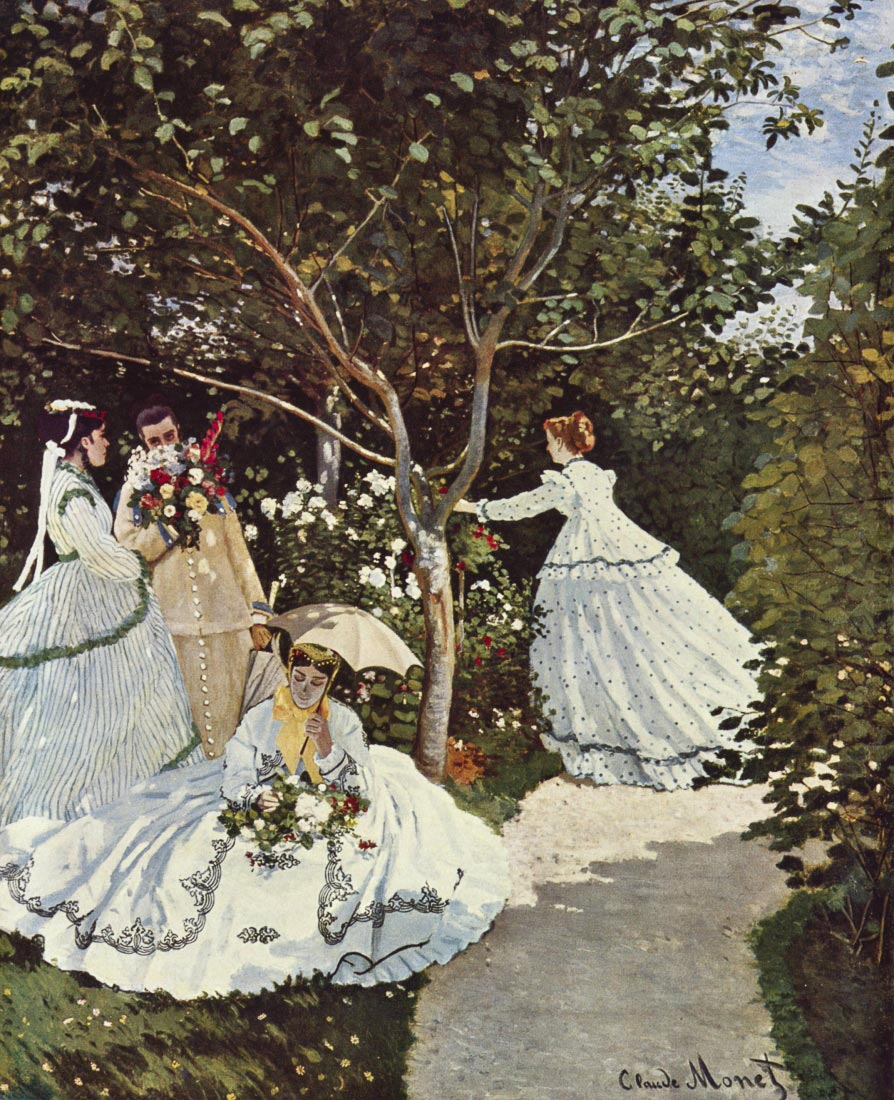 Women in the garden - Monet
