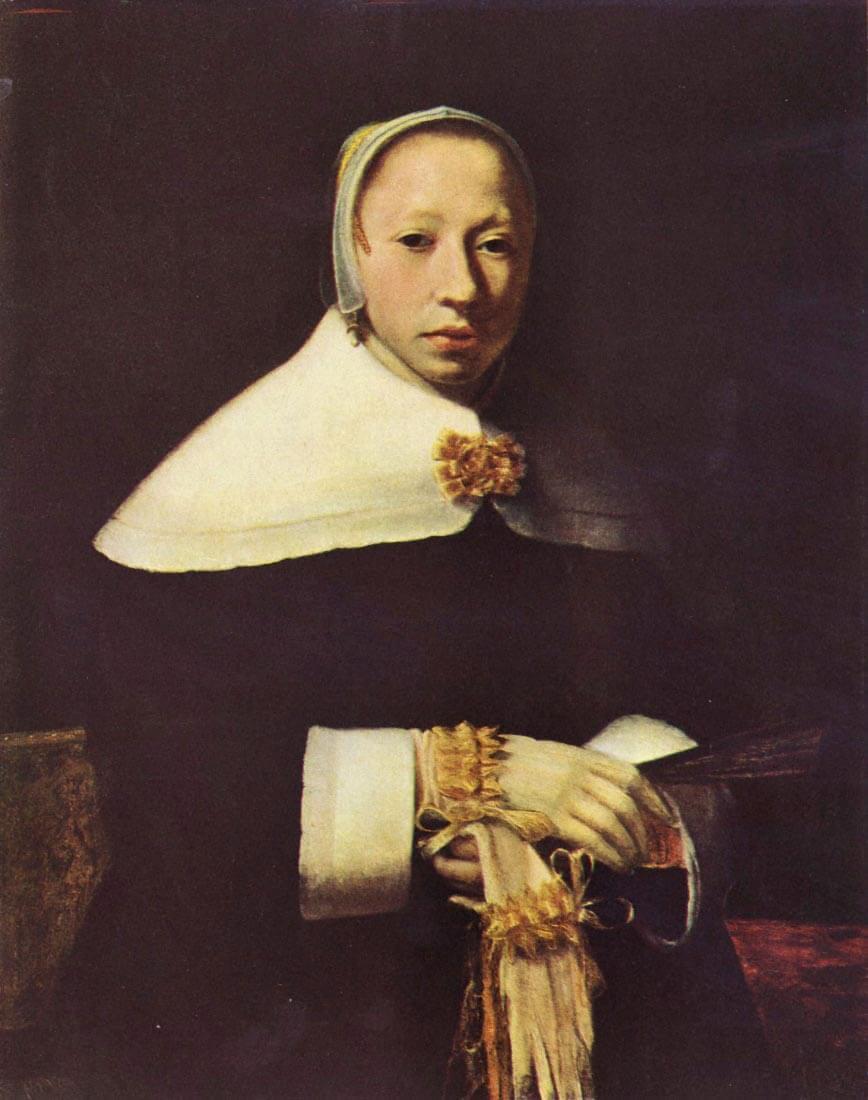 Womens portrait - Vermeer