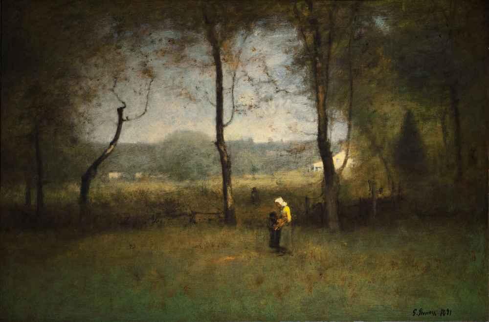 Wood Gatherers - George Inness