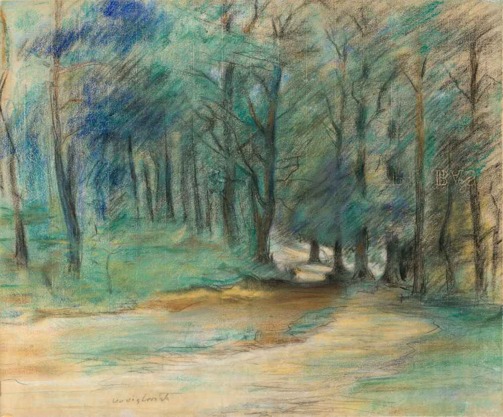 Woodland Path - Lovis Corinth