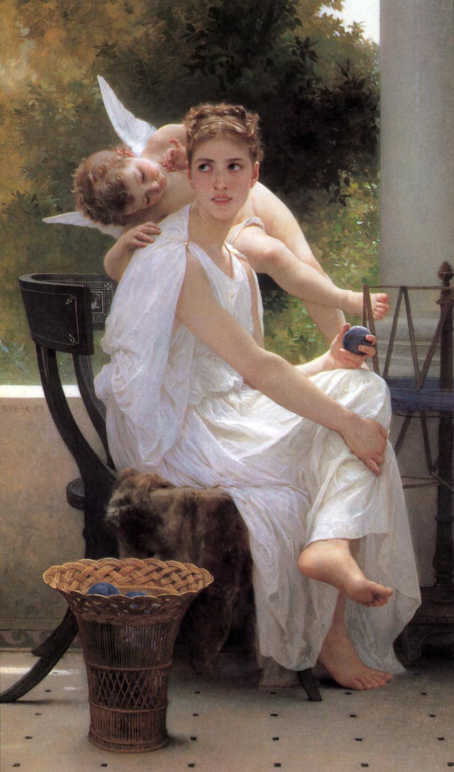 Work Interrupted - Bouguereau