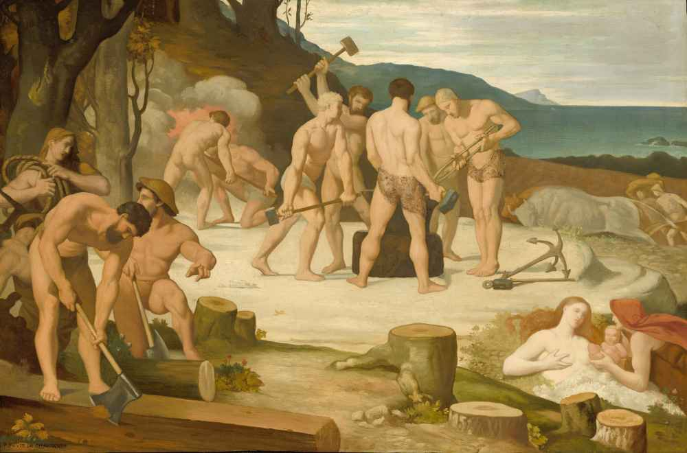 Work - Pierre Puvis de Chavannes